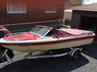 1982 ThunderCraft Bow Rider For sale or Trade $1000