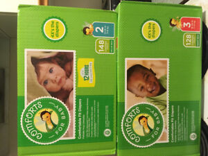 Baby diapers and formula