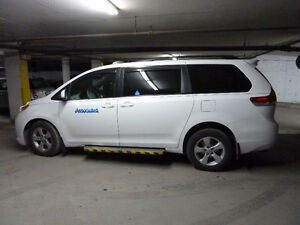 2013 Toyota Sienna Wheelchair accessible Minivan, Van