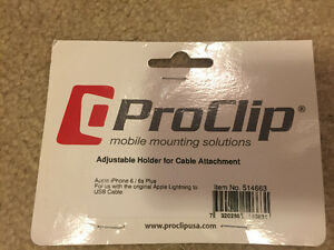 Pro-Clip Adjustable Mobile Holder for Cable Attachment