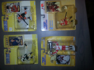 Kenner nhl starting line up, batman, termanitor, wwe, spawn
