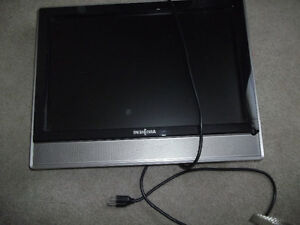20 in tv ,has no stand flat screen