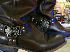 Harley boots ladies 9  recycledgear.ca Kawartha Lakes Peterborough Area image 1