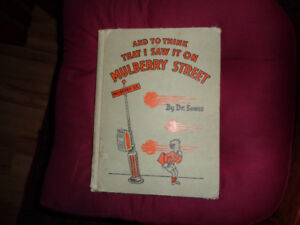 1937  Dr. Seuss  And to think I saw it on Mulberry Street