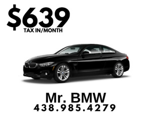 2018 BMW 430xi xDrive Coupe - $639/Month TAX IN - $0 Down