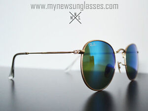 Ray ban - Round Metal - Blue Mirrored (Osheaga Must Have )