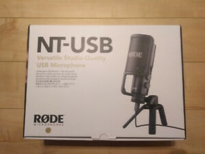 Rode NT USB Microphone BRAND NEW