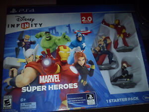 Playstation 4 Disney Infinity Marvel Super Heroes Unopened