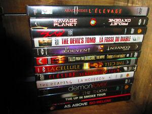 Dvd - films d'horreur seulement