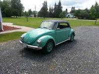 1973 Super Beetle Convertible