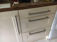 Kitchen doors cream gloss
