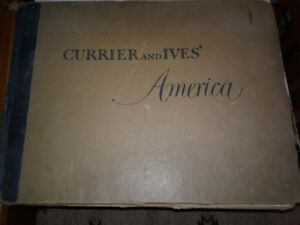 Old Currier and Ives Antique great pictures