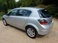 CHEAP CAR - 2008 J VAUXHALL ASTRA 1.6 DESIGN 5D 115 BHP