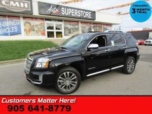 2016 GMC Terrain Denali  V6 AWD NAV ROOF LEATH LD BS CAM P/GATE