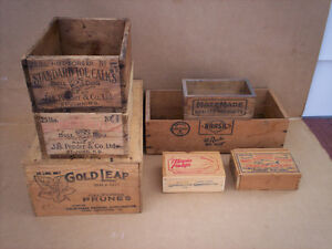 Antique / Vintage Wooden Boxes.
