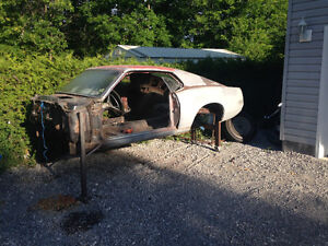 1969 Mustang Fastback Project