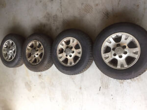 New Goodyear Nordic Winter Tires & Used Nissan Wheels