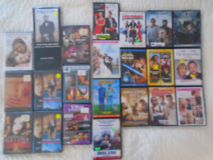 9  NEW DVDs 13 USED DVDs all 22 for $25