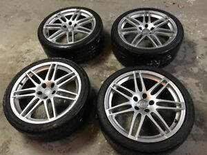 """19"""" Audi Rims with Tires"""