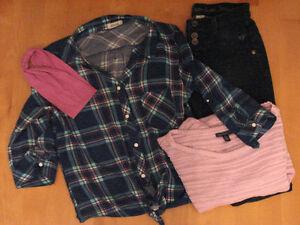 Vêtements Adolescente ( Americain Eagle, Justice, Ardène)