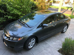2010 Honda Civic - Low miles, Manual transmission