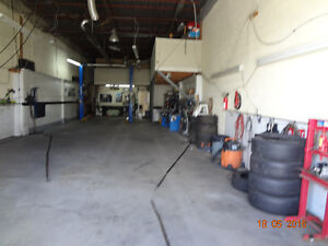 MECHANIC, DETAILING SHOP FOR RENT - AVAILABLE IMMEDIATELY
