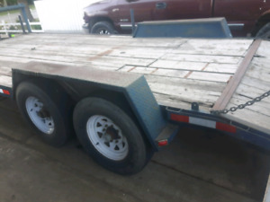 Heavy built trailer