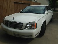 2002 Cadillac DeVille leather Sedan
