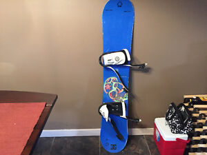 Used K2 Fuse snowboard with Liquid bindings
