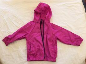 Girls Rain Coat 1-2 years
