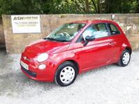 2010 Fiat 500 1.2 ( s/s ) POP HPI CLEAR ! £ 30 ROAD TAX !