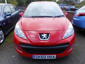 2010 PEUGEOT 207 S 1.4 PETROL MANUAL 5 DOOR HATCH BACK