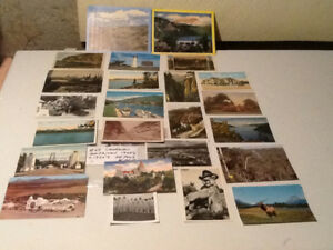 VINTAGE UNUSED POST CARDS. 069