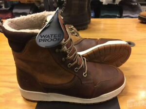 mens sz 8 TIMBERLAND RAYSTOWN 200G WATERPROOF BOOTS BROWN
