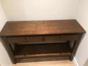 Costco Console or TV table