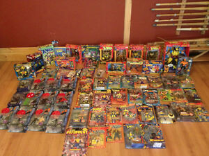 WOLVERINE, LOGAN, X-MEN action figures HUGE LOT worth over $1000