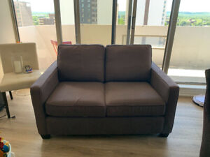 Selling West Elm small loveseat sofa/couch great condition