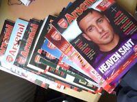Arsenal club magazines