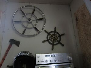 OLD BOAT STEERING WHEEL'S