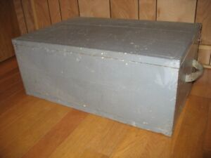 Old Wooden Storage Box