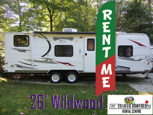 Sold Your House? Travel Trailer Rentals