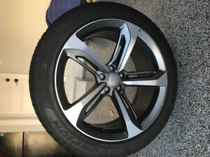 Audi rims RS7 - Pirelli winter tire package - like new