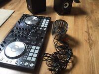 SERATO DDJ-SR controller + speakers
