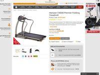 Horizon T4000 premier tredmill