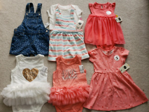 Baby Girl Clothing (18-24 months) New