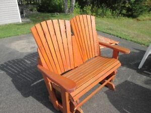Side by side wooden glider - price reduced !!!