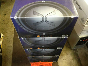 Four NEW 800 Watt  Exile Dual Voice Coil 12in Matched Subwoofers Cambridge Kitchener Area image 9