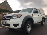 2012 12 FORD RANGER 2.5 TDCI XL DOUBLE CAB AIR CON 4X4
