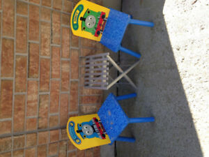 Thomas chairs and small table