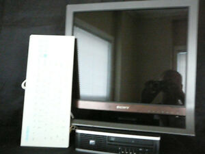 """HP COMPUTER WITH 19"""" SONY LCD MONITOR"""